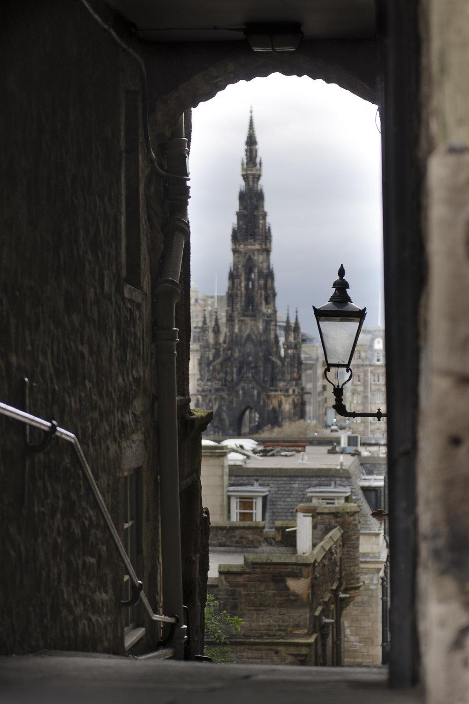 Scotts Monument - Edinburgh  PHOTOGRAPHY: ALEXANDER J.E. BRADLEY •NIKON D7000 • AF-S NIKKOR 24-70mm ƒ/2.8G ED @ 70MM • ƒ/2.8 • 1/100 •ISO 100