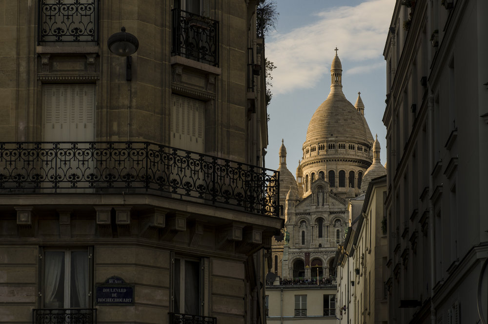 Sacré Cœr - Paris  PHOTOGRAPHY: ALEXANDER J.E. BRADLEY •NIKON D7000 • AF-S NIKKOR 24-70mm ƒ/2.8G ED @ 66MM • ƒ/8 • 1/125 •ISO 100
