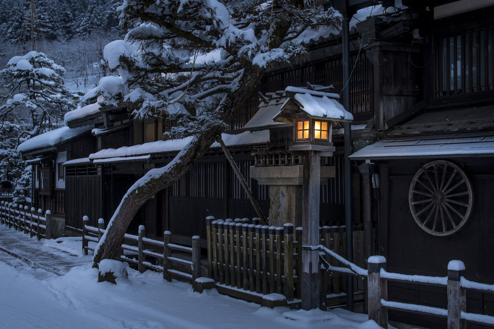 Traditional houses at Takayama