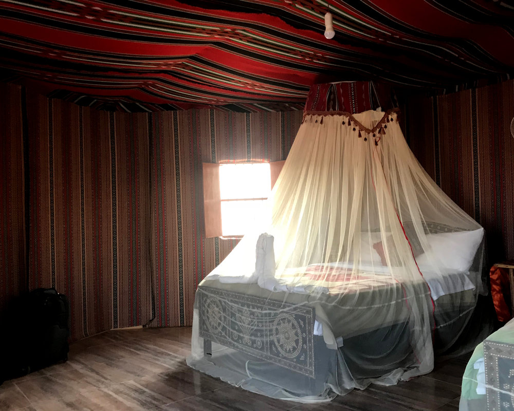 Luxury Desert Tent