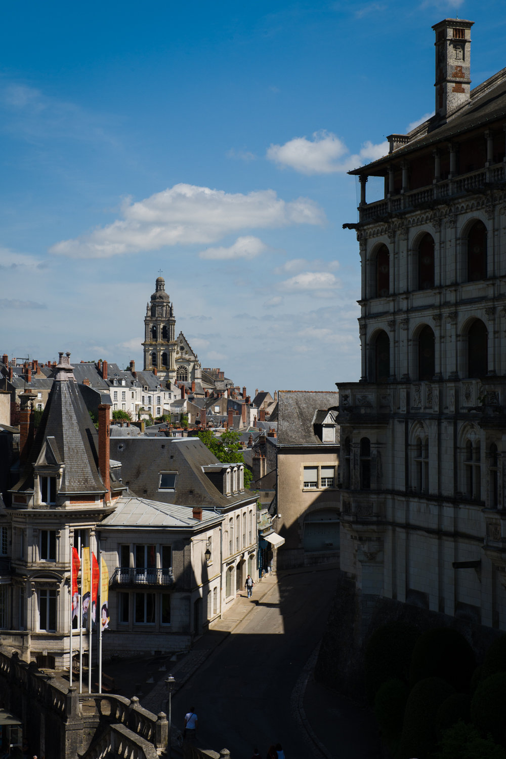 Blois, Loire Valley  PHOTOGRAPHY: William Lounsbury • NIKON D800 • AF-S NIKKOR 24-70MM F/2.8G ED @ 70MM • Ƒ/11 • 1/320 • ISO 200