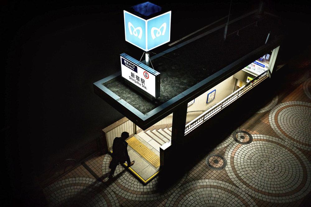 Shinjuku Station  PHOTOGRAPHY: Lee Chapman