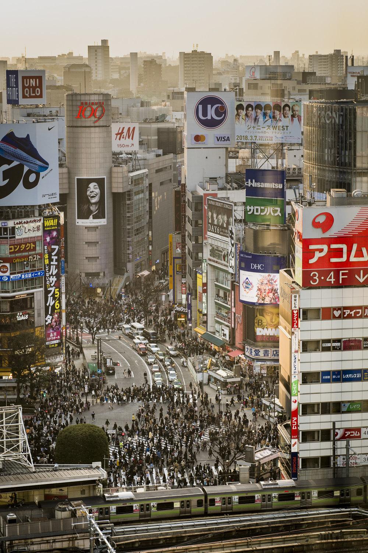 Shibuya   PHOTOGRAPHY: ALEXANDER J.E. BRADLEY • NIKON D500 • AF-S NIKKOR 24-70MM Ƒ/2.8G ED @ 62MM • Ƒ/5.6 • 1/160 • ISO 200