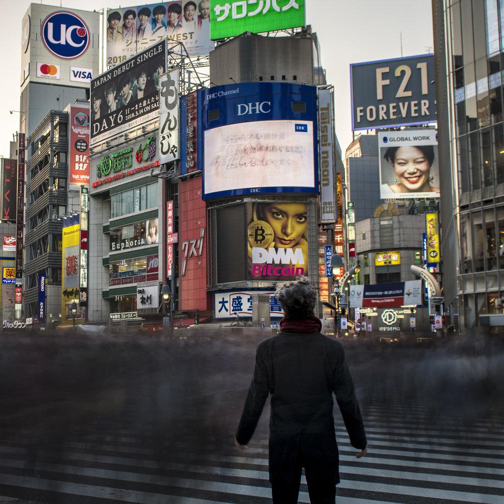 Hachiko Crossing   PHOTOGRAPHY: ALEXANDER J.E. BRADLEY • NIKON D500 • AF-S NIKKOR 24-70MM Ƒ/2.8G ED @ 24MM • Ƒ/5.6 • 15 Sec • ISO 100