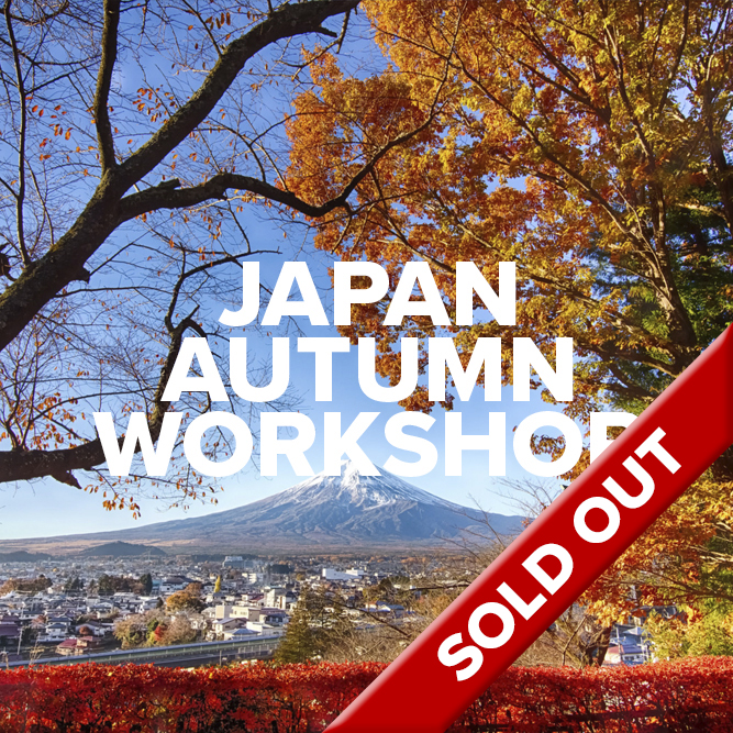 Japan Autumn Workshop - SOLD OUT