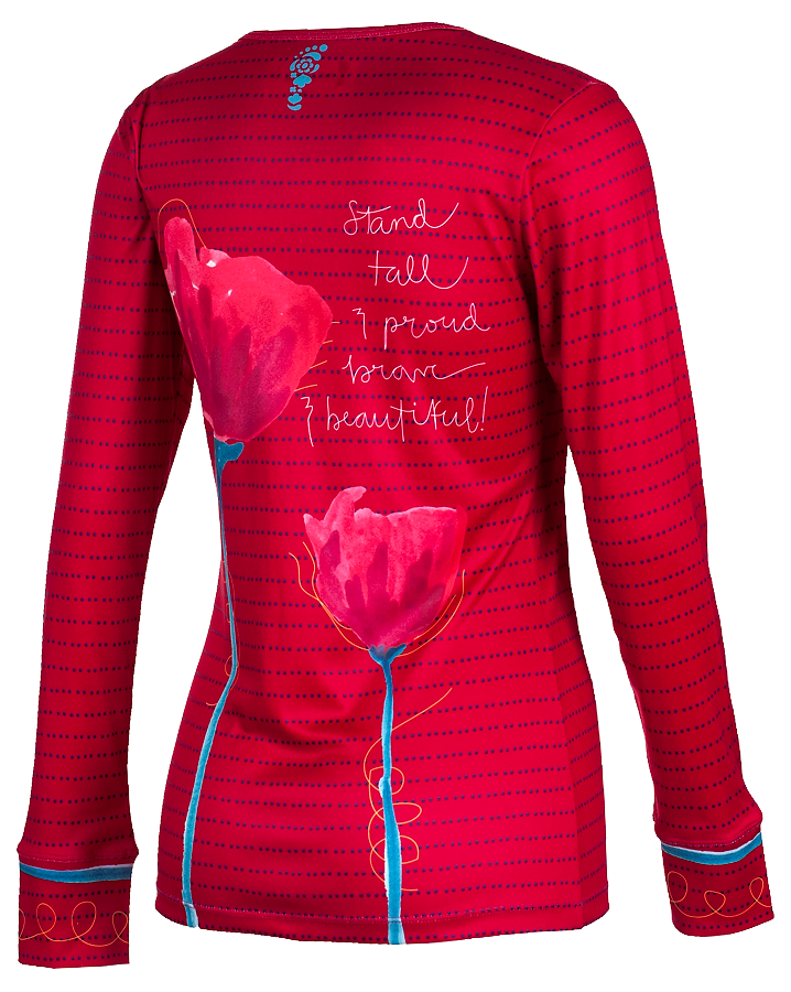 sublimated shirt designed for Run Pretty Far