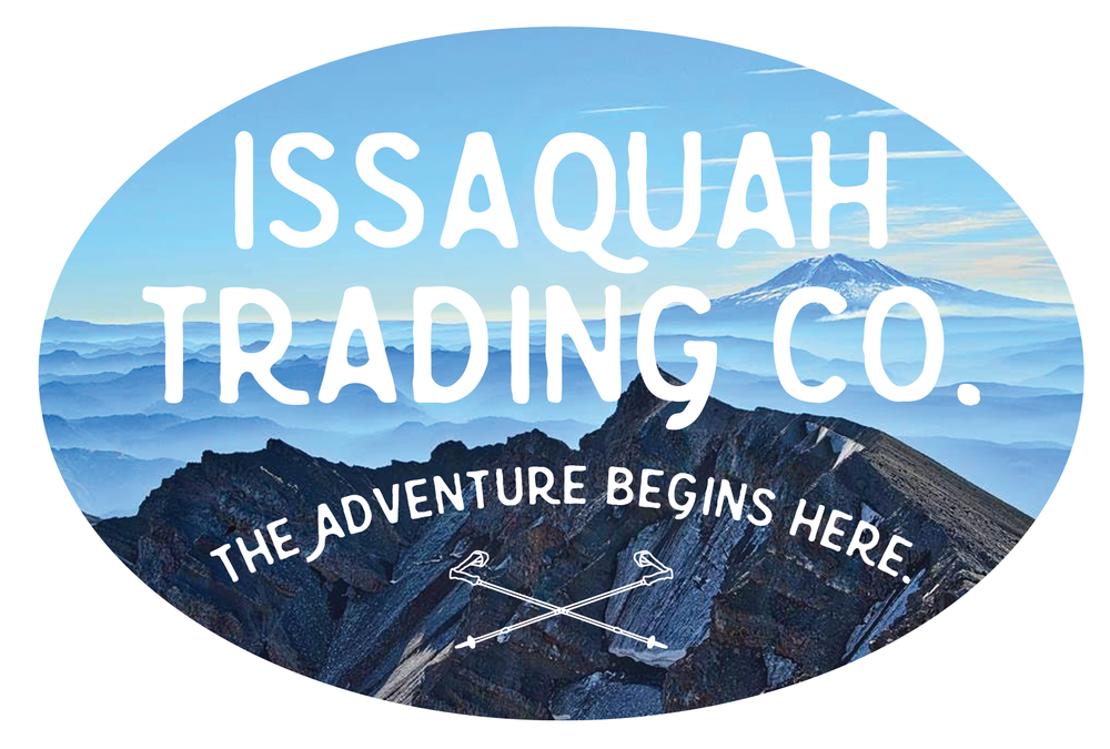 sticker created for Issaquah Trading Co.