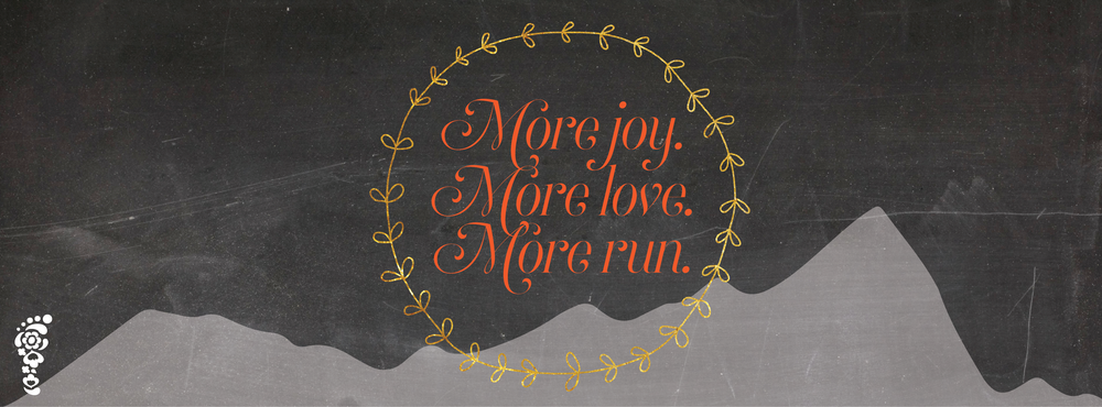 web graphic created for Run Pretty Far
