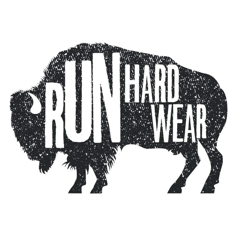 branding & logo created for Run Hard Wear