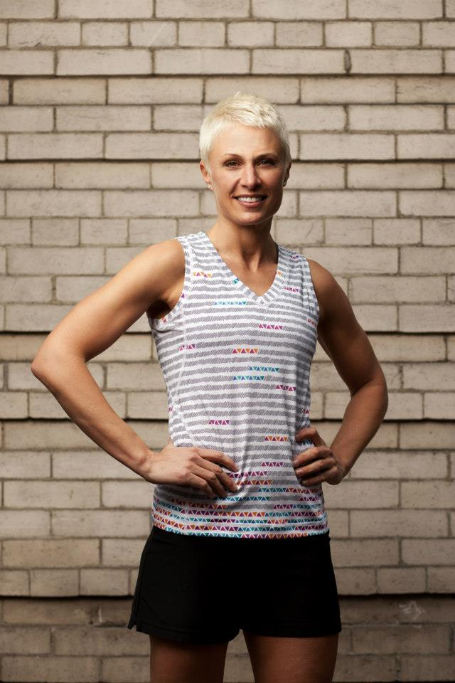 sublimated tank designed for Run Pretty Far