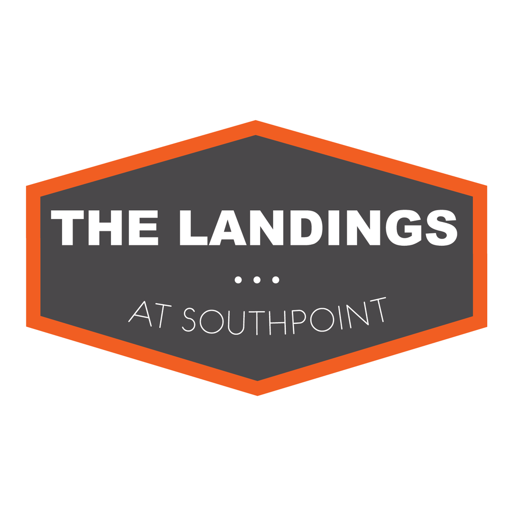 branding & logo created for apartment complex the Landings at Southpoint