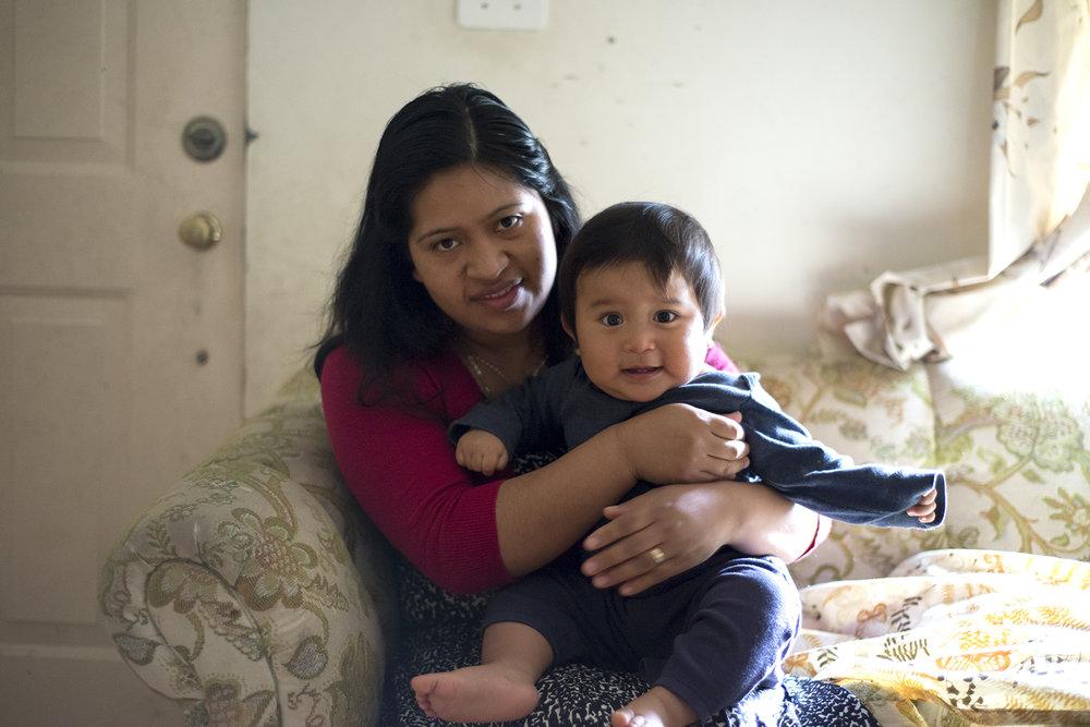 Raquel with her son Mateo | Guatemala