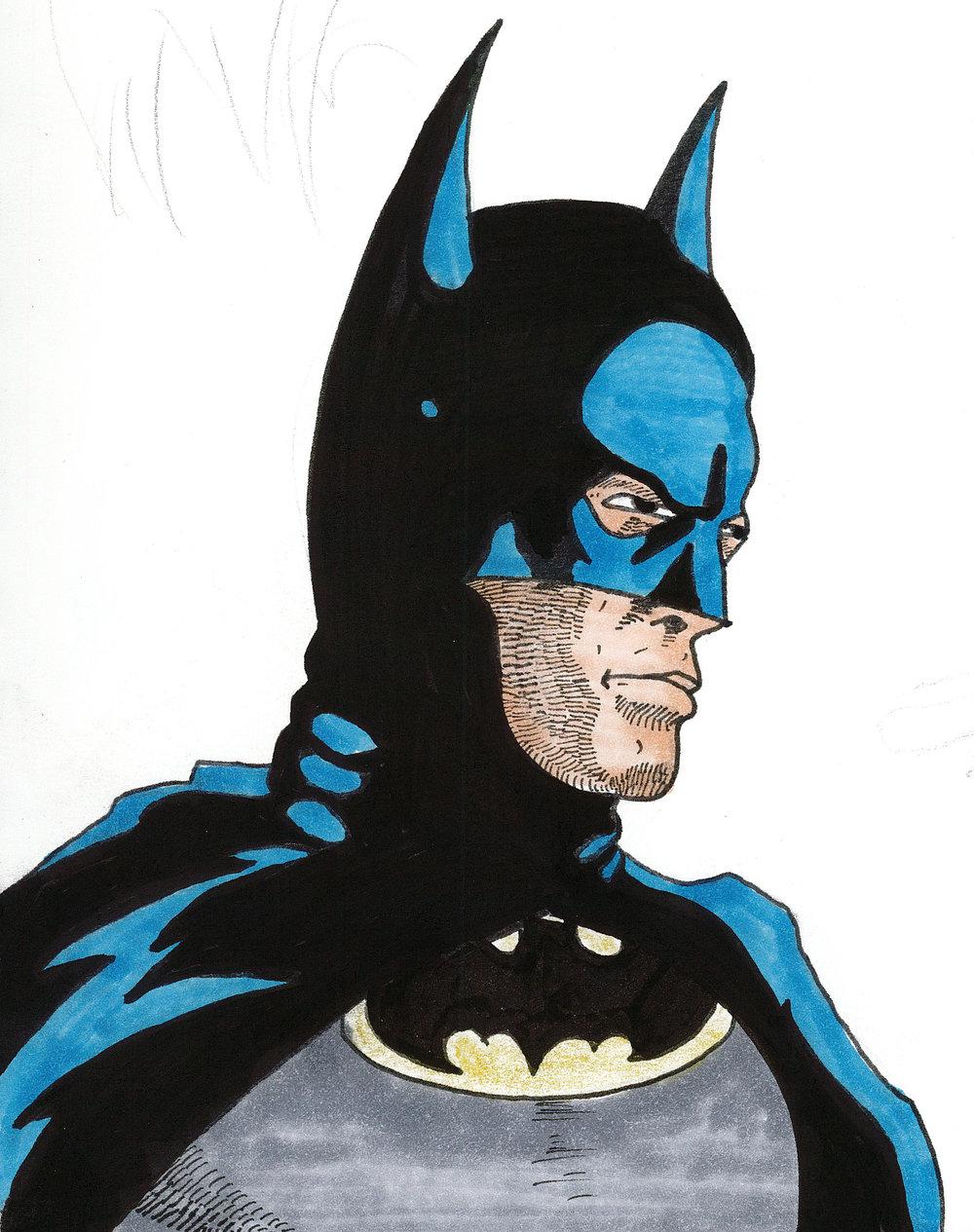 Batman (Inktober 2017)