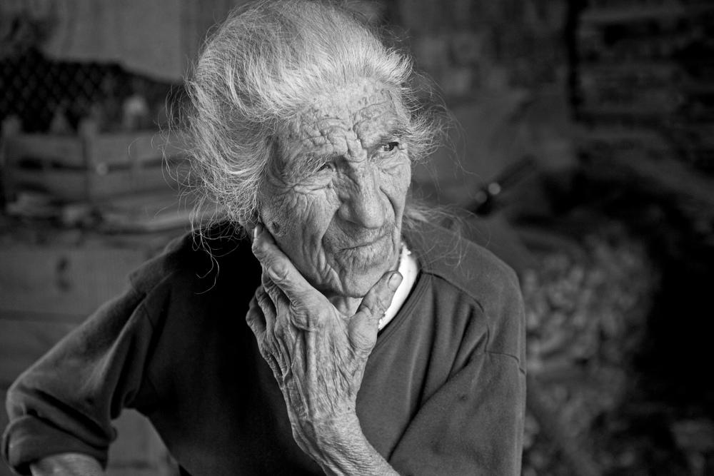 Portrait of Petrana, Oreshak, Bulgaria