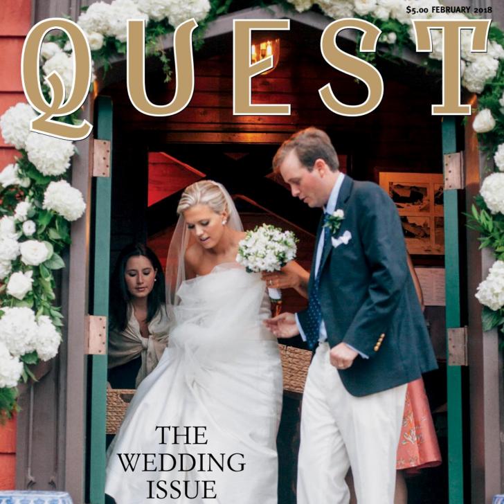 Quest Magazine February 2018               Wedded Bliss
