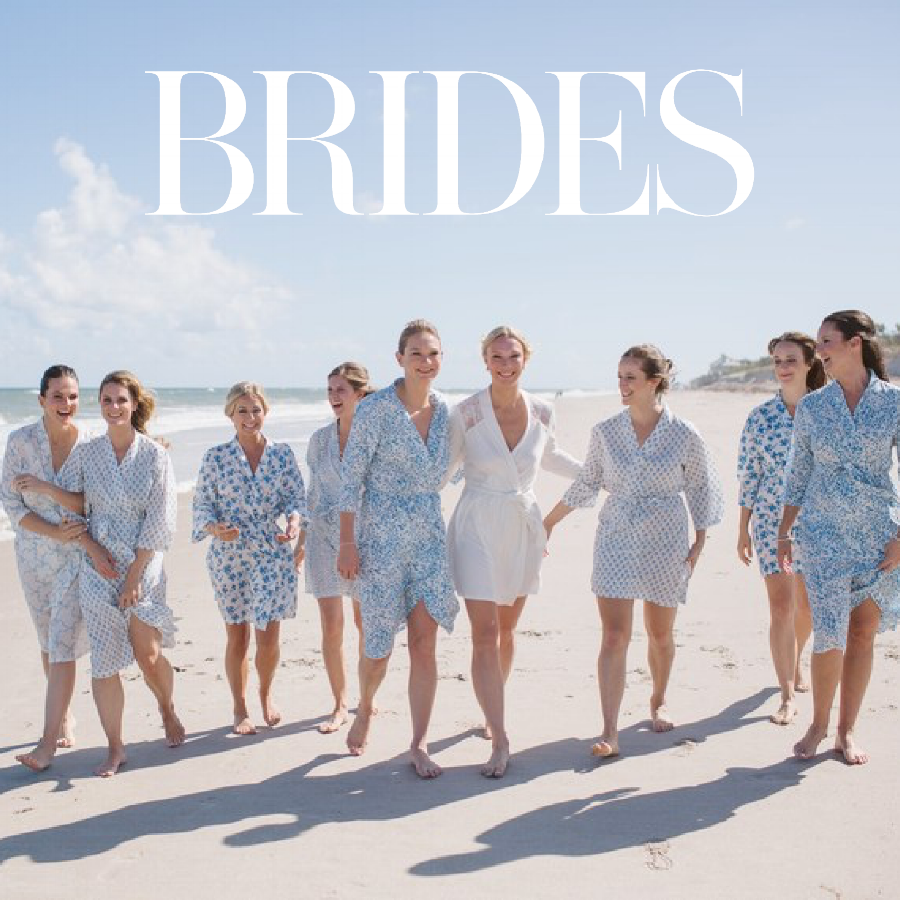 Brides Magazine June 2018   A Palm-Accented Destination Wedding in Florida