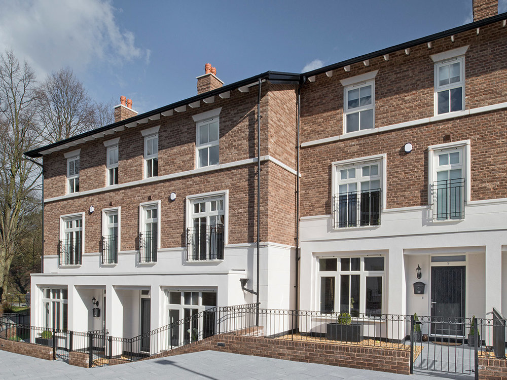 Riverside Place development designed on behalf of Hillcrest Homes was one of the projects praised by the judges