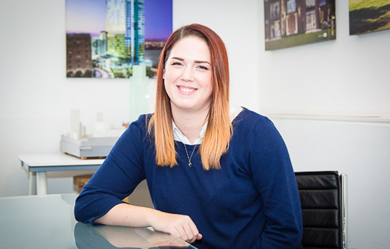 Rhiannon Graham  Architectural Assistant    Rhiannon joined Calderpeel in 2017.   With an enthusiasm for design and creativity she is a valuable member of the team.