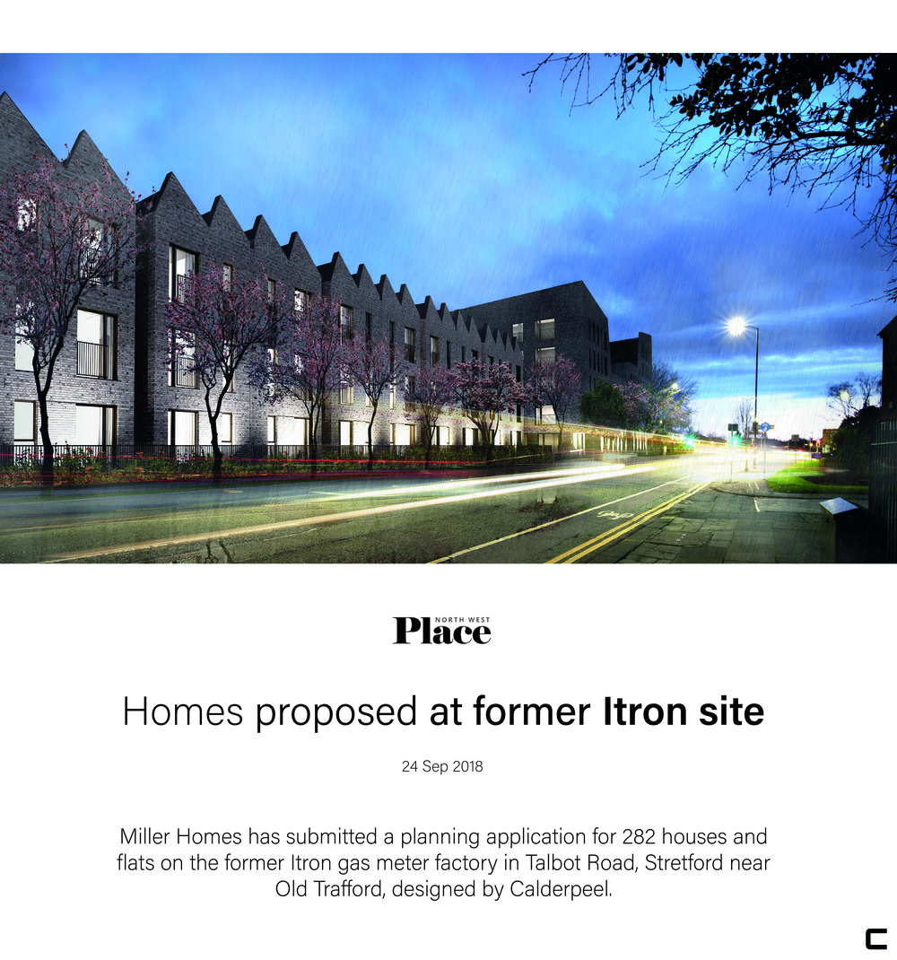 24/09/2018    https://www.placenorthwest.co.uk/news/homes-proposed-at-former-itron-site/