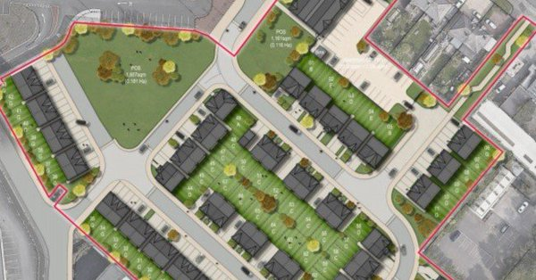 25/10/2018    Application by Mulbury Homes and Wythenshawe community Housing Group for 94 homes in Hazel Grove has been lodged with Stockport Council.