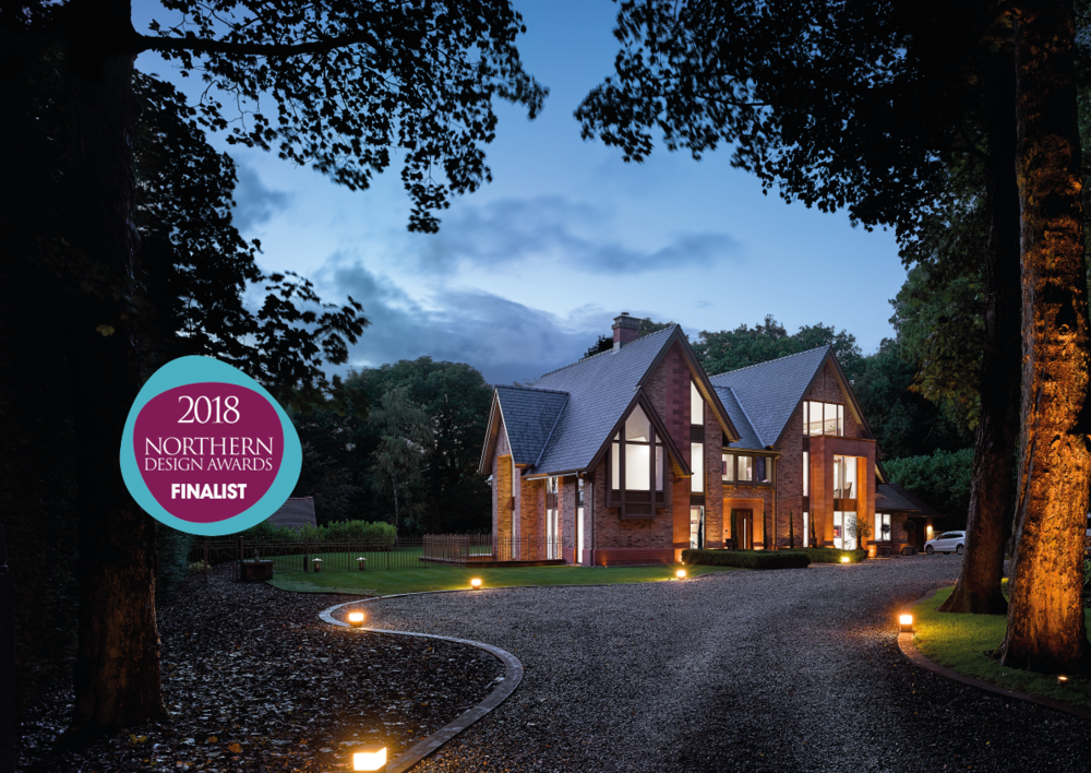 16/11/18     Private Residence - Cheshire    -  Shortlist in this year's Northern Design Awards