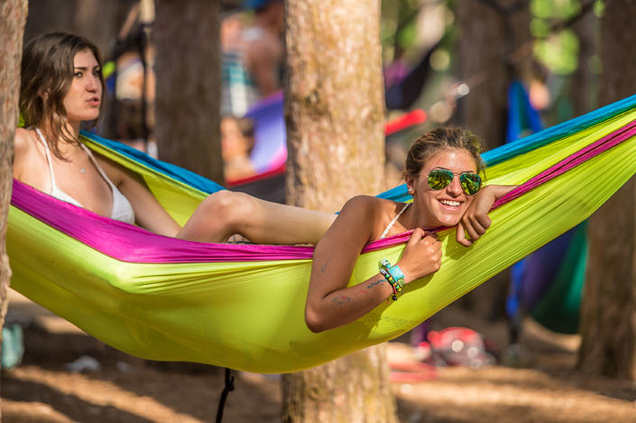Hammocks of Electric Forest | source: Insomniac Events