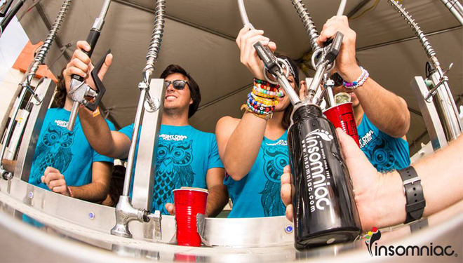 Insomniac's free water fill stations | Source: Insomniac