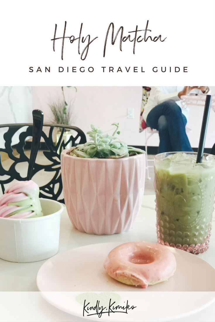 Holy Matcha San Diego Travel Guide