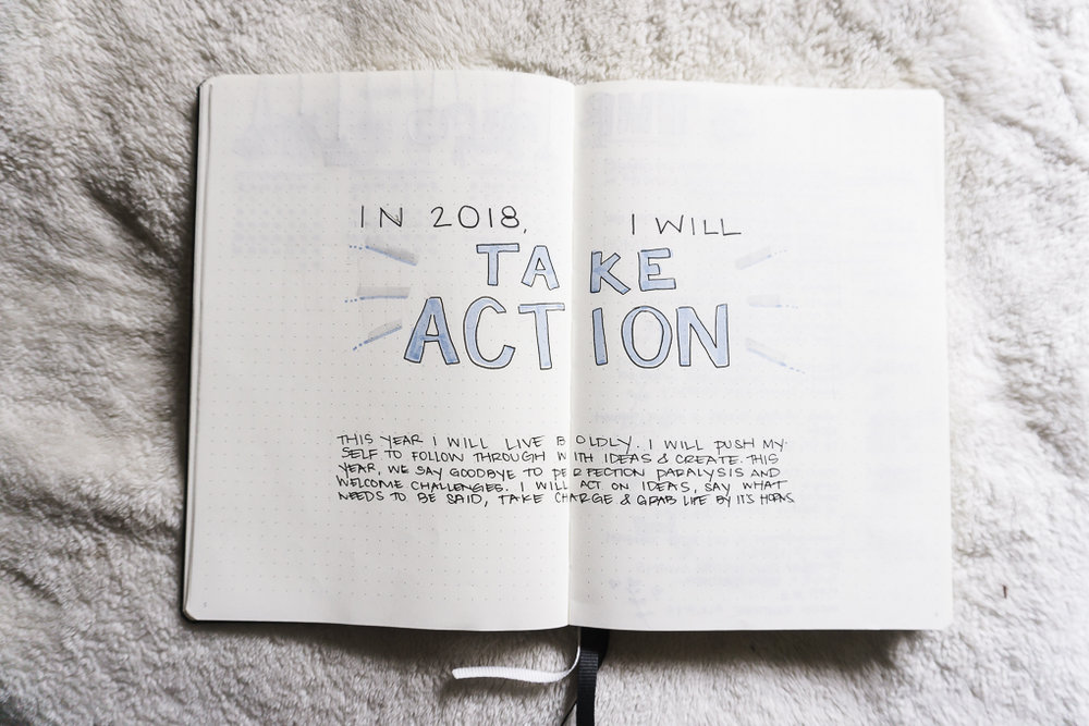 bullet journal bujo ideas goal setting