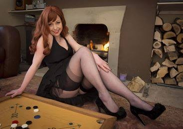 Black Reinforced Heel and Toe Stockings