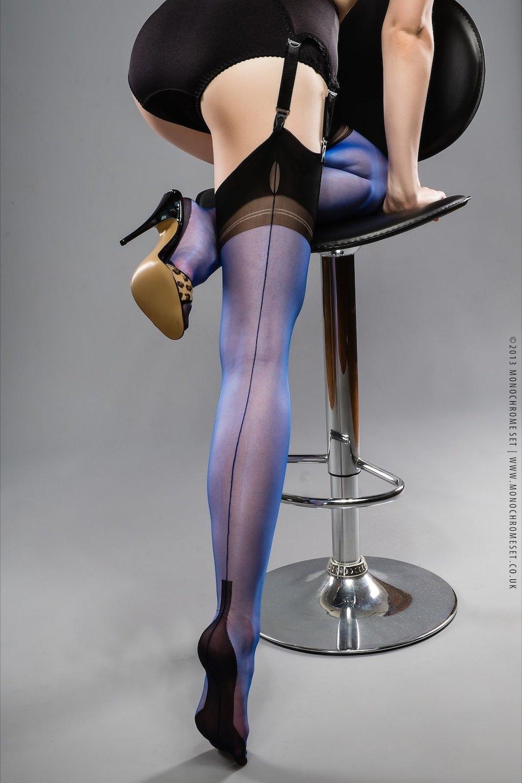 Sexy Purple Stockings