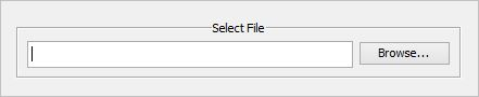 3. You will need to specify the file where the export will go. If you do not have a file created already, then enter (or browse to) the path and give the file a name. If the file exists, you'll select it. If it doesn't exist, enter the name you wish to use and the export process will create it. The file format supported is .xlsx only. If you do not include the .xlsx extension, the program will add it. Then click  Next.