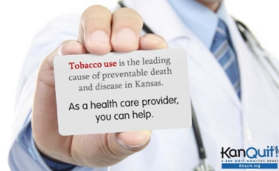 Are you trying to promote tobacco cessation with your organization? Take this   free   online training to learn about cessation best practices, the Kansas Quitline, AND earn a CEU.   www.kstobaccointervention.org     Contact  Rebecca Garza  for more information or assistance with promoting cessation.