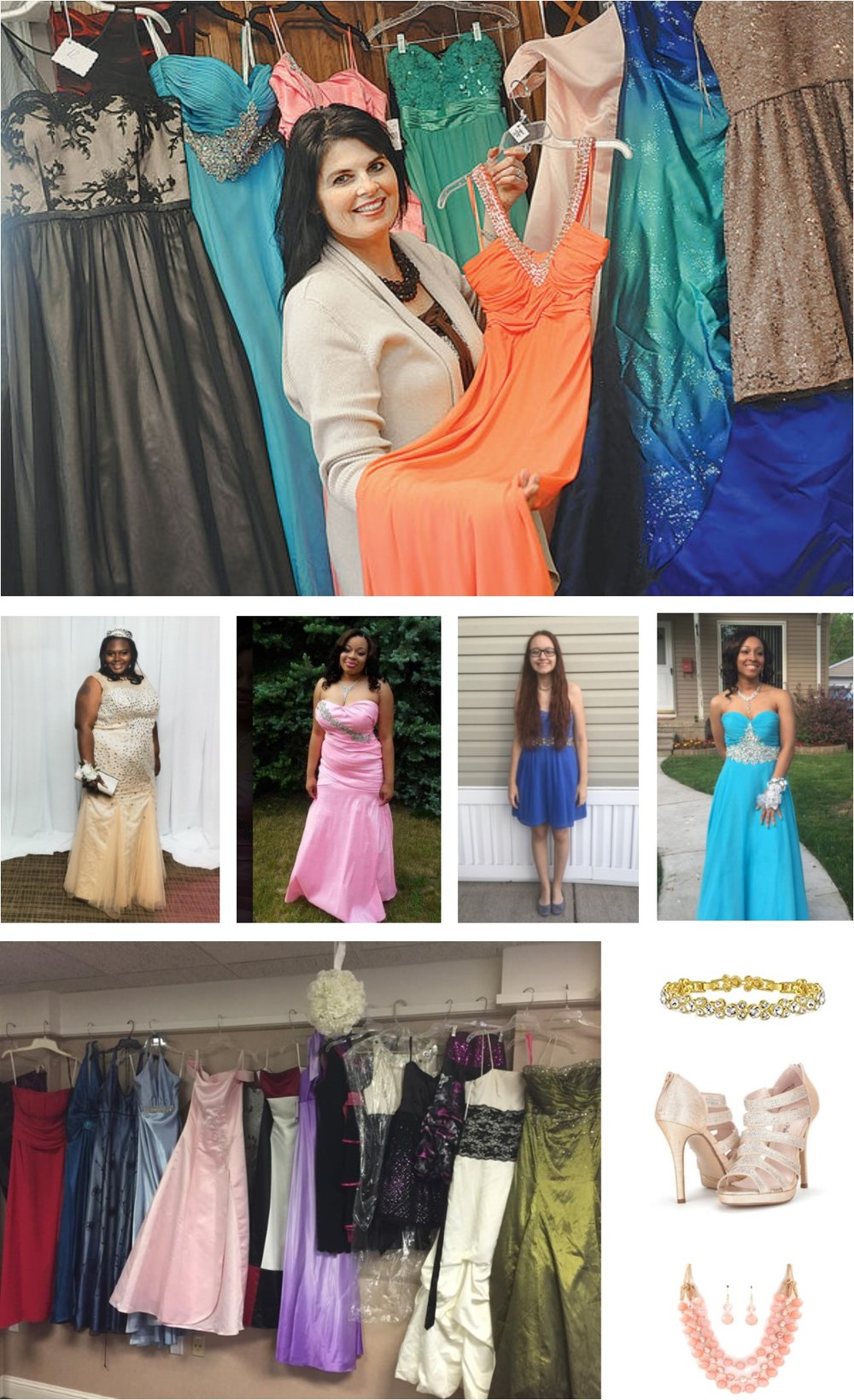 We want every woman to feel as beautiful as God sees them. - Prom Dress with a Purpose is our boutique outreach program that lends dresses, shoes and accessories to teens who need something special to wear to an event—free of charge.From prom to homecoming, we have over 150 (and counting!) new and gently used dresses in sizes 2-24 in a wide range of colors and styles to choose from.With each item we lend, we have the unique opportunity to make teens feel pampered and beautiful on their special day; showing them a snapshot of how God wants to clothe them with His strength and beauty.Click to read more about Prom Dress with a Purpose in the Farmington Press!