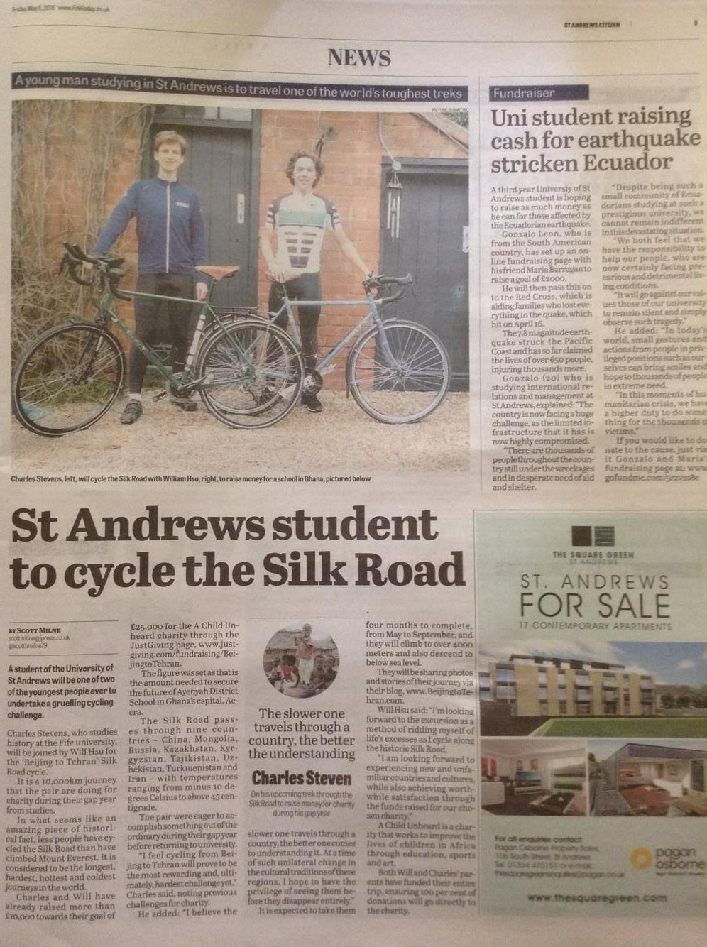 Saint Andrews Citizen - May 2016