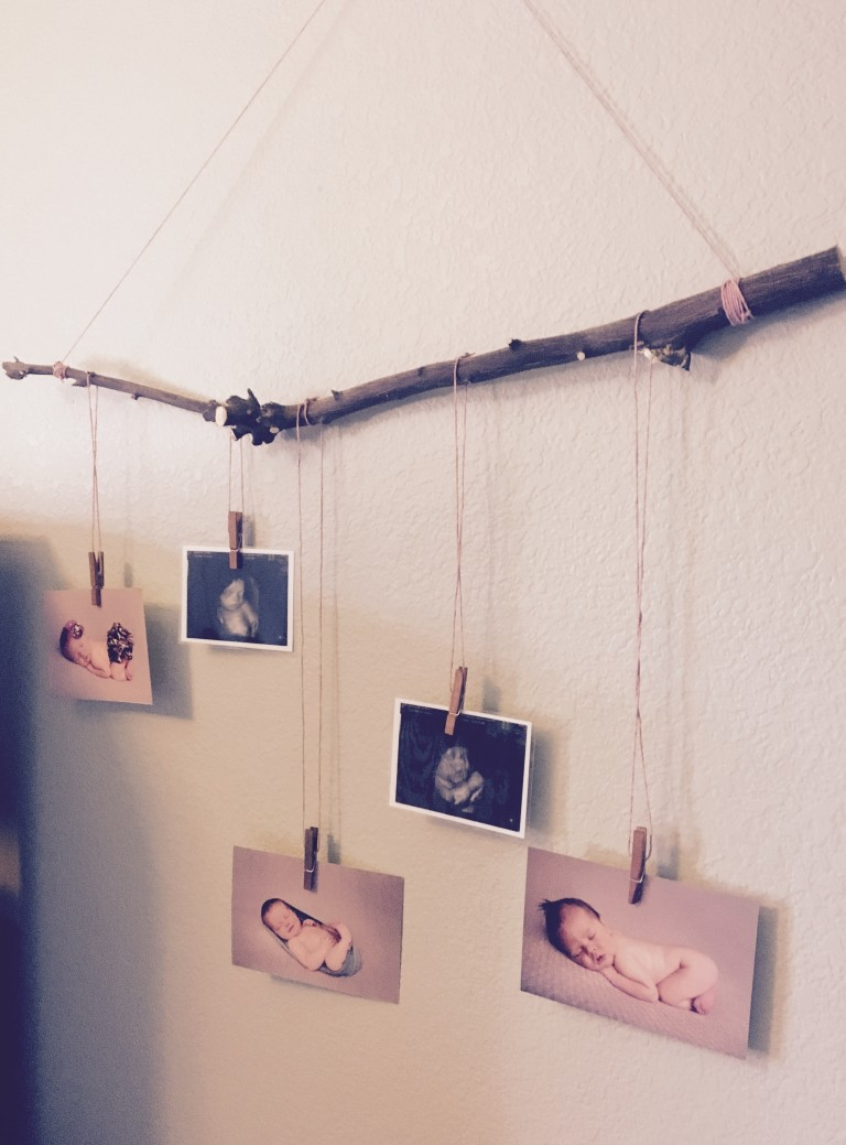 newborn photo display