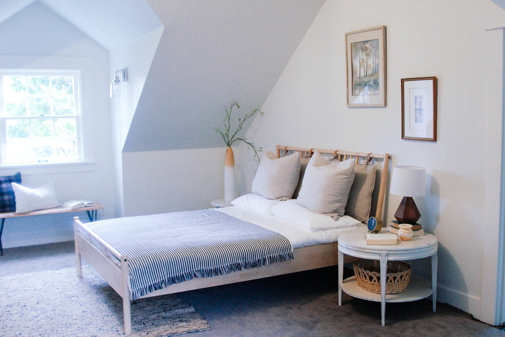 """""""A room created in the palest, milkiest shades of off-white can have surprising richness and depth."""""""