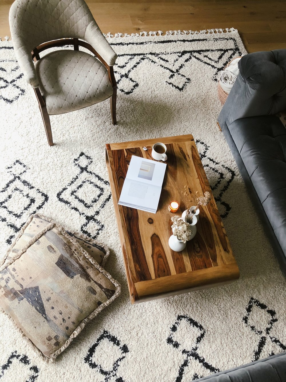 Create a spot in your home where you actually want to spend hours in.