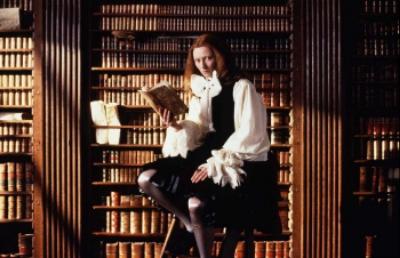 Tilda Swinton in the movie adaptation of Orlando (1992)