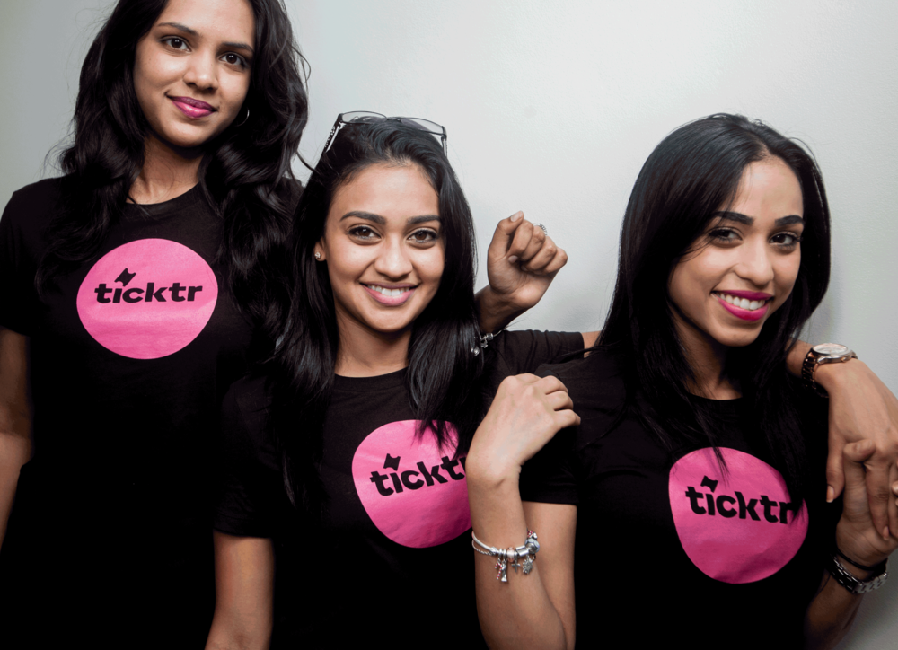 UWI marketing students launched Ticktr on campus