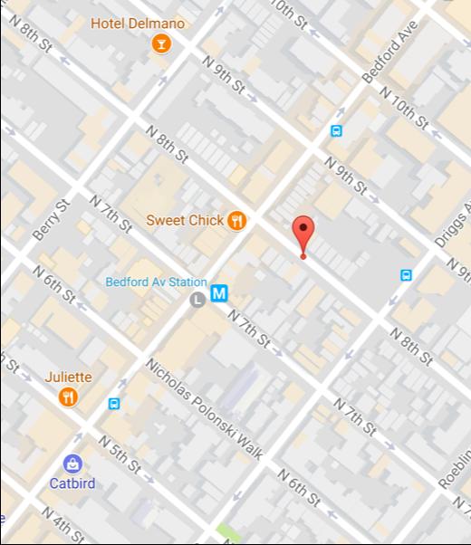 178 N 8th St Brooklyn   NY 11211 -