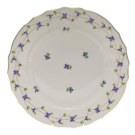 Blue Garland Dinner Plate