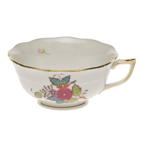 Chinese Bouquet Multicolor Tea Cup
