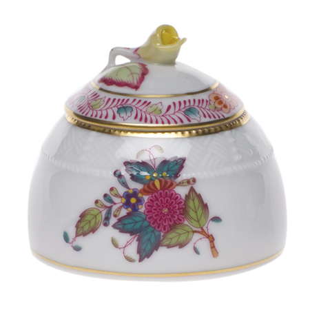 Chinese Bouquet Multicolor Honey Pot