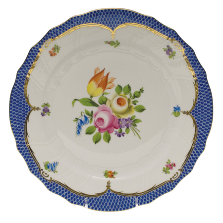 Printemps Blue Dinner Plate