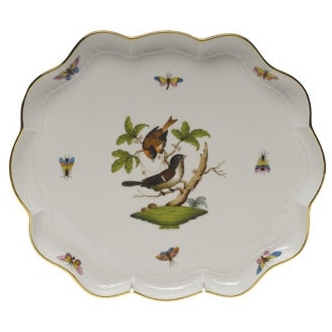 Rothschild Bird Scallop Tray