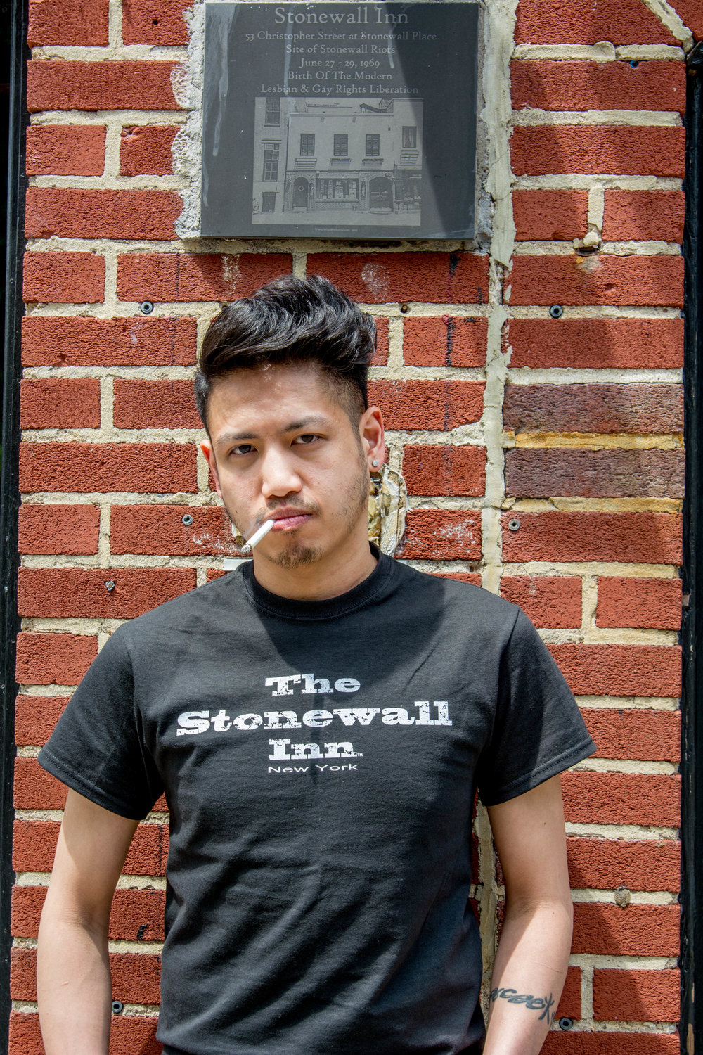 "Paolo Nickname: Stonewall's Gaysian Hometown: Queens and Long Island Turn Ons: Nerds and Geeks Turn Offs: Attitudes and Rudeness I went to college for Nursing and now I'm a Bartender! I've worked at the Stonewall since 2009. The Stonewall is my second family and I wouldn't trade them for anything! I've live in New York basically all my life and don't plan on ever leaving this amazing city. My family and friends are my life, even though I barely see them since all I do is work! Live, Laugh, Love and ""party all the time!"" Works: Monday- Downstairs Happy Hour- 2 p.m.- 9 p.m. Saturday- Upstairs Happy Hour- 2 p.m. – 9 p.m. Saturday- Upstairs- 9:00 p.m.- 4 a.m."