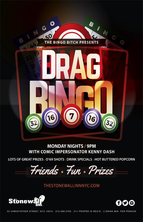 Kenny Dash Drag Bingo