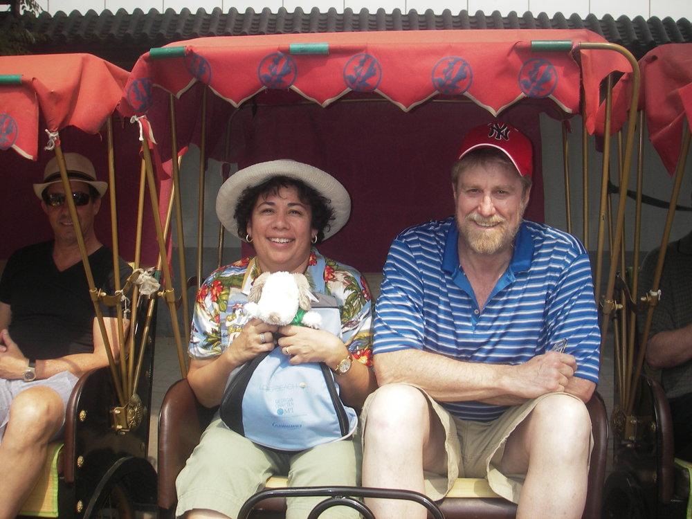 CHINA - RICKSHAW RIDE THRU BEIJING HUTONG.JPG