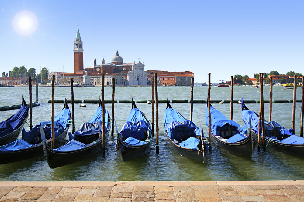 4 - Italy - Venice Gondolas St Mark's.jpg